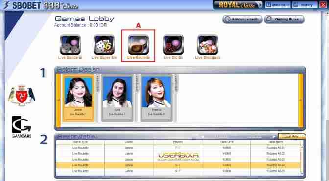 Judi Sbobet Casino